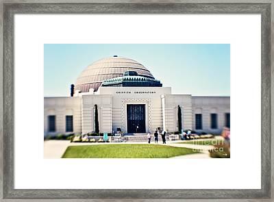 Griffith Observatory Framed Print by Scott Pellegrin