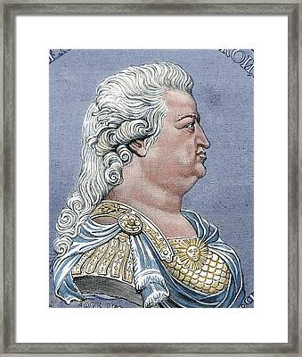 Grigory Aleksandrovic Potyomkin Framed Print