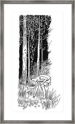 Grimm The Star Money Framed Print by Granger