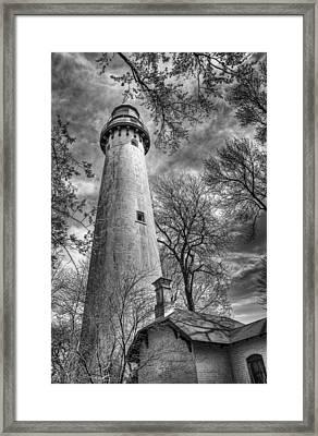 Grosse Point Lighthouse Framed Print by Scott Norris