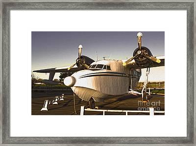 Grumman G-64 Albatross Uh16 Framed Print by Gregory Dyer