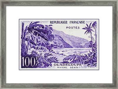 Guadeloupe River Sens Framed Print