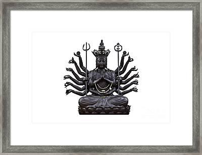 Guanyin Framed Print by Tosporn Preede