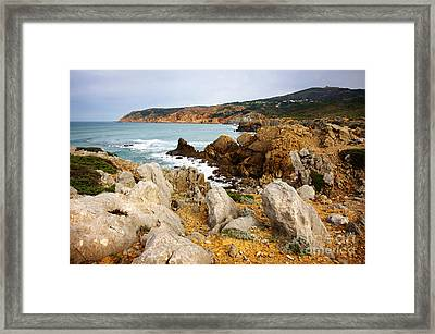 Guincho Cliffs Framed Print by Carlos Caetano