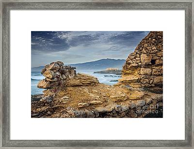 Guincho Coastline Framed Print by Carlos Caetano