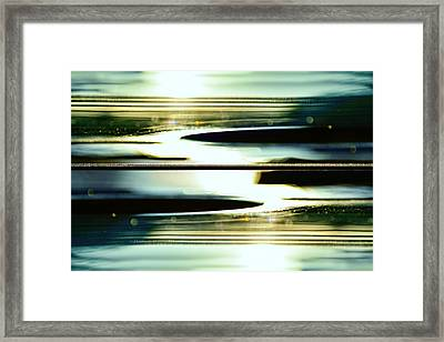 Guitar Galaxy Framed Print by Laura Fasulo