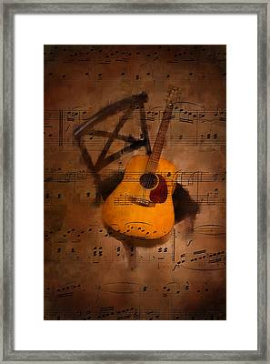 Guitar No.5 Framed Print by Brian Enright