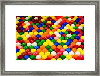 Gum Balls Framed Print