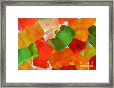 Gummy Bears Framed Print