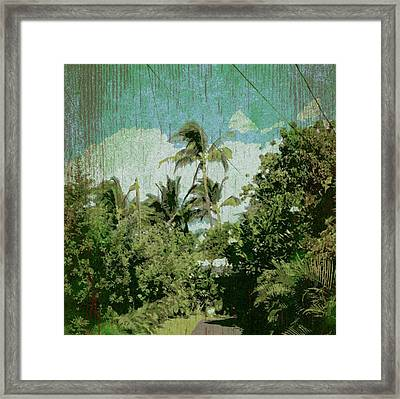 Halama Hale Framed Print by Stacy Vosberg