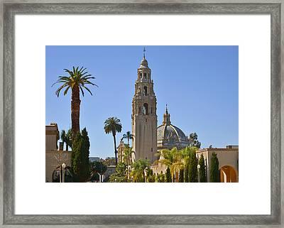Balboa Park - The Soul Of San Diego Framed Print