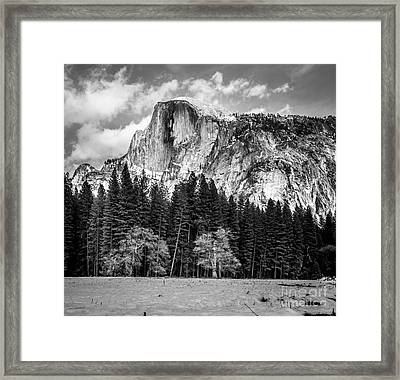 Half Dome Framed Print