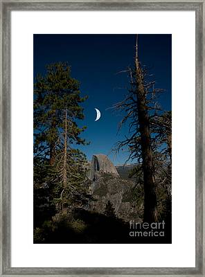 Half Dome, Yosemite Np Framed Print by Mark Newman