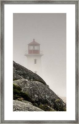 Halifax Fog Framed Print by Jennifer Wheatley Wolf
