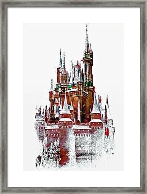 Hall Of The Snow King  Framed Print by Steve Harrington