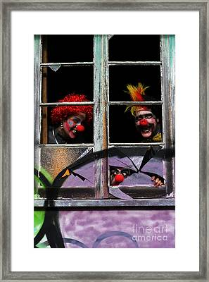 Halloween House Party Framed Print