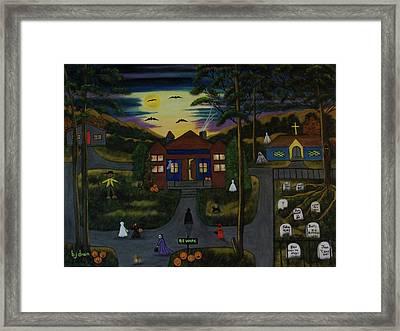 Halloween Night Framed Print