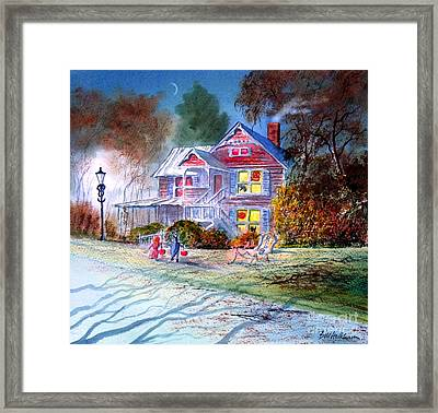 Halloween Trick Or Treat Framed Print