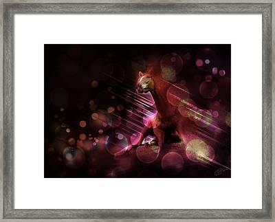 Hallucination Framed Print by Kate Black