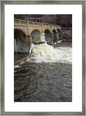 Hamilton Dam Framed Print