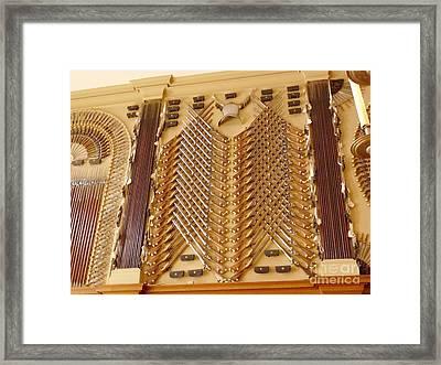 Hampton Court Palace Weaponry Framed Print by Deborah Smolinske