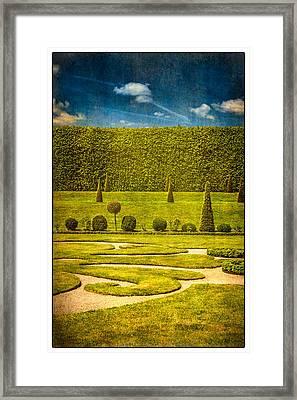 Hampton Court 'the Privy Garden Framed Print