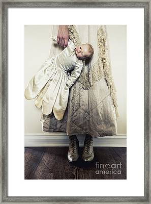 Hand Holding Framed Print by Margie Hurwich