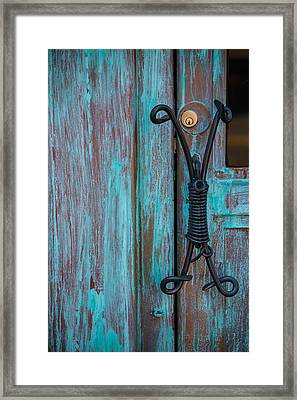 Handle It Framed Print