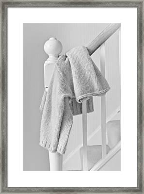 Hanging Jumper Framed Print by Tom Gowanlock