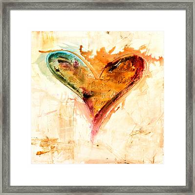 Happiness Is Inside Framed Print