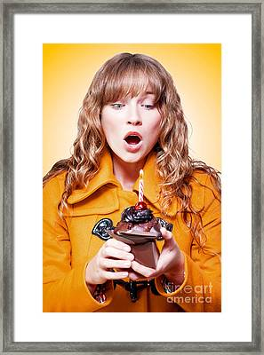 Happy Birthday Wishes Framed Print by Jorgo Photography - Wall Art Gallery