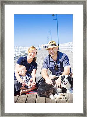 Happy Healthy Young Family Framed Print by Jorgo Photography - Wall Art Gallery
