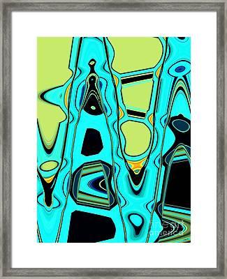 Happy Hour Framed Print by Michelle Hershiser