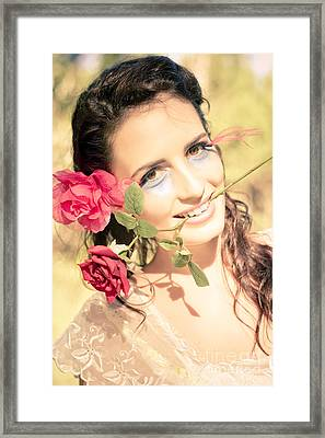 Happy In Love Framed Print by Jorgo Photography - Wall Art Gallery