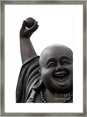 Happy Laughing Framed Print by Tosporn Preede