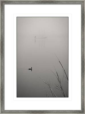 Harbor Fog No.2 Framed Print