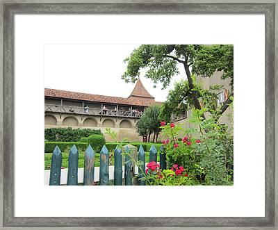 Harburg Castle Framed Print