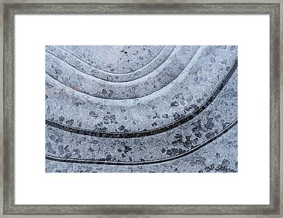 Hard Water Framed Print by Bill Morgenstern
