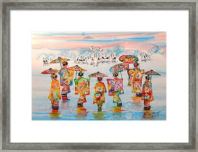 Harmonious  Motion New Framed Print