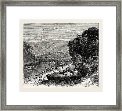 Harpers Ferry, United States Of America Framed Print