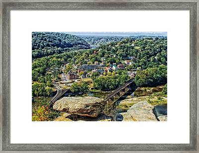 Harpers Ferry West Virginia Framed Print by Mountain Dreams