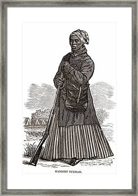 Harriet Tubman, American Abolitionist Framed Print