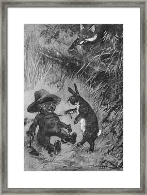 Harris Uncle Remus, 1911 Framed Print by Granger