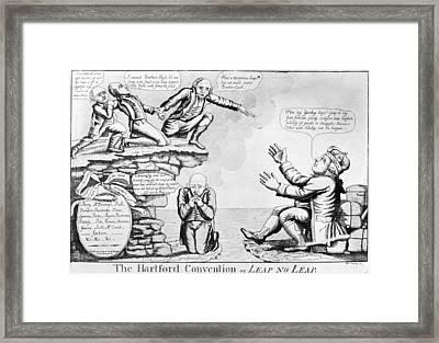 Hartford Convention, 1815 Framed Print by Granger