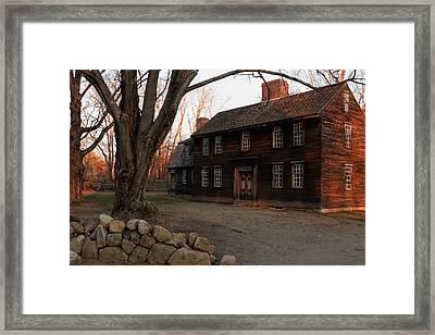 Hartwell Tavern 2 Framed Print by Jeff Heimlich