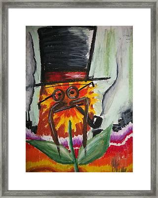 Hat Magic Framed Print by Jake Huenink