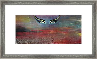 Hathor Framed Print by Stacey Austin