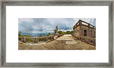 Haunted Diplomat Hotel, Baguio City Framed Print by Panoramic Images