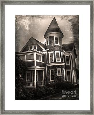 Haunted House Framed Print by Gregory Dyer