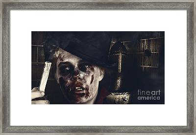 Haunted House Mystery. Tales From The Crypt Framed Print by Jorgo Photography - Wall Art Gallery